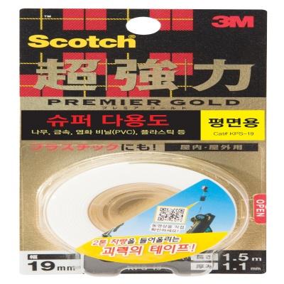3M 스카치™ 초강력 폼 양면테이프 KPS-19