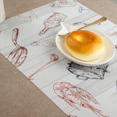쿠킹프린팅 테이블매트 이쁜식탁매트 테이블소품