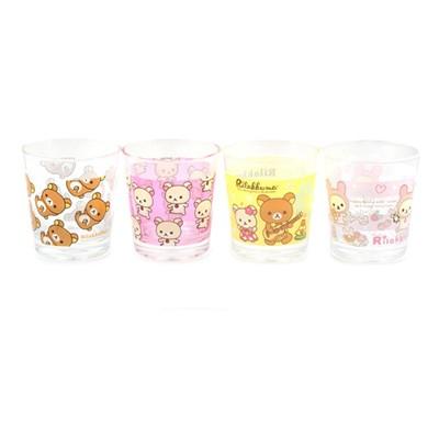 리락쿠마 프랜들리 쥬스컵(4종)