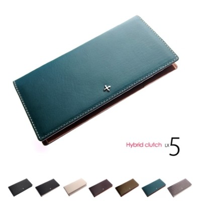[excuve] Lx5 hybrid clutch and multi wallet PREMIUM ANTIQUE BLUE