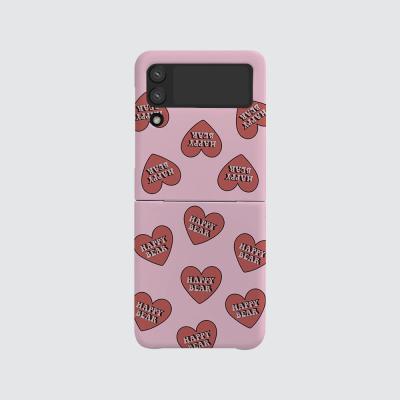168cm(무광-Z플립3) HB 하트 패턴 핑크
