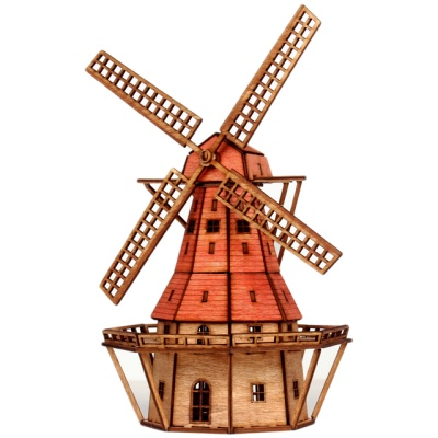 [히스토리하우스] 서양건축시리즈: 풍차(네델란드)
