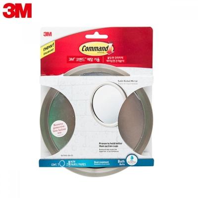 3M™ 코맨드™ 메탈 거울_#BATH35-SN-ES