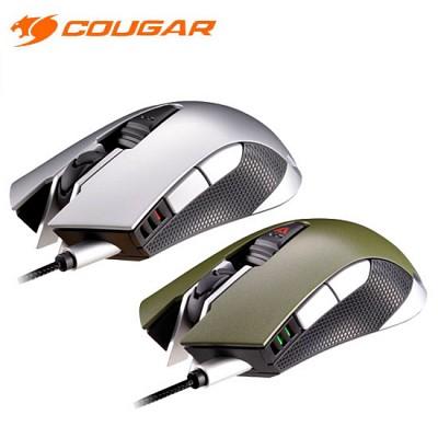 쿠거 게이밍 마우스 COUGAR 530M (5000DIP / 1000Hz 폴링 스피드 / DPI 변환 버튼 / 서브 버튼 / OMRON 스위치 / 매크로기능)