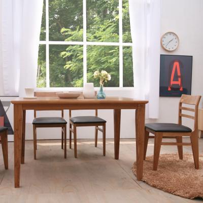 헤닝식탁세트(4인용식탁, 의자 4개 포함)