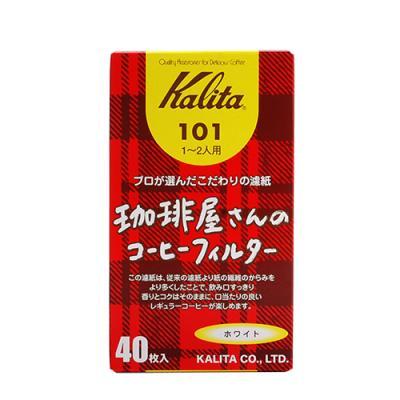 Whatcoffee칼리타 Box 101 필터 백색 40매