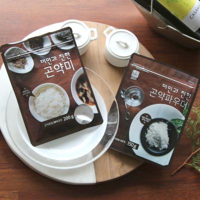 [패키지]곤약쌀200g 1봉 곤약파우더150g 1봉