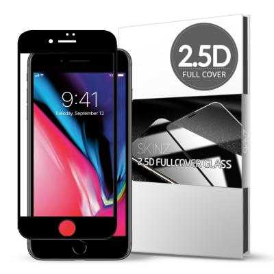 스킨즈 아이폰8 2.5D 풀커버 강화유리 필름 (1장)