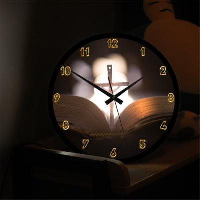 nf559-LED시계액자35R_빛나는주님의말씀