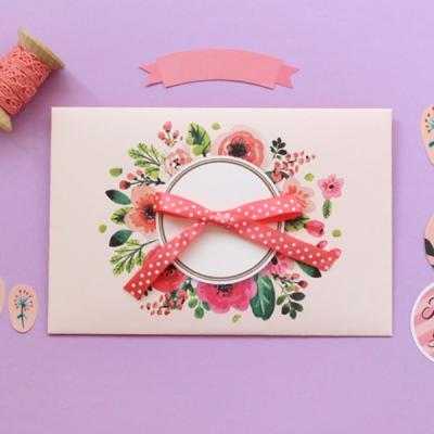 꽃다발카드봉투10p