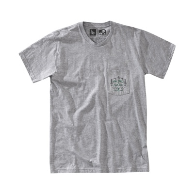 [히피트리] Mendocino Tee - Heather Grey