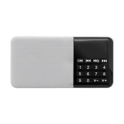 휴대용 FM 라디오 스피커 / 효도 라디오 LCID346