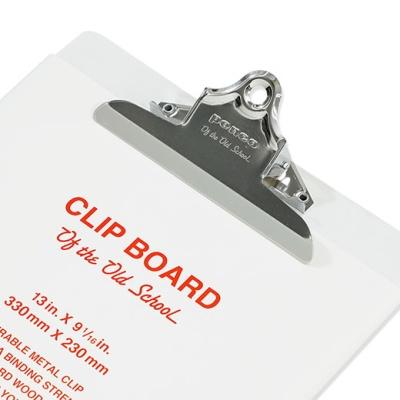 [펜코] 클립보드 A4 화이트 ZZ249