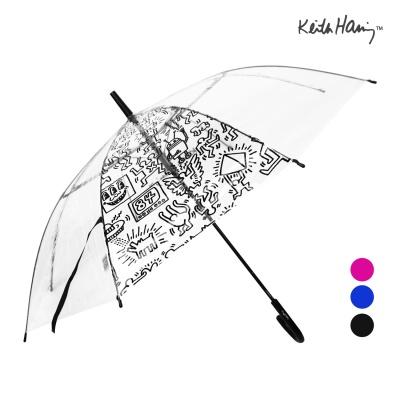 키스해링 멀티 투명우산