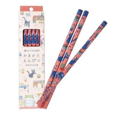 [마녀배달부 키키] 연필세트(코리코산책)