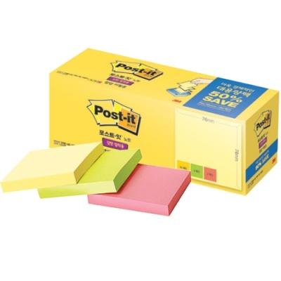 포스트잇 강한점착용팝업리필용대용량팩 KR330-20A 398139