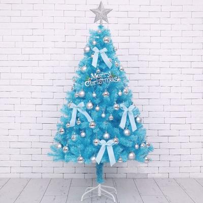 크리스마스 트리 세트 블루 120cm