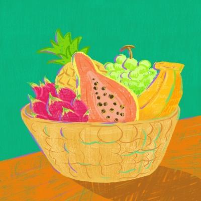 Bali fruit 엽서