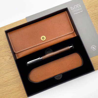 Gift Set -PC303S(필통, 우든펜 RP-303,펜슬리브)