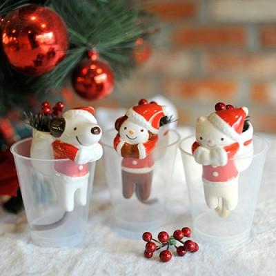 [무료배송] [Mooas] 크리스마스 새싹키우기 쉬폰 Mooas X-mas Shippon 귀여운 동물친구들의 크리스마스 새싹키우기, 물만 부어주면 OK!