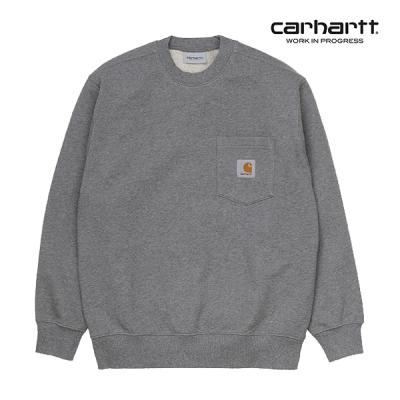칼하트WIP Pocket Sweatshirt (Dark Grey Heather)