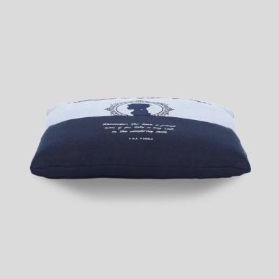 빨간머리앤 자수 방석커버45X45cm 블루 ALSM 12-14-B