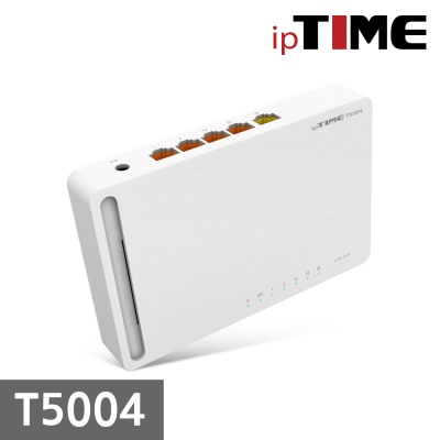 (아이피타임) ipTIME T5004 유선공유기
