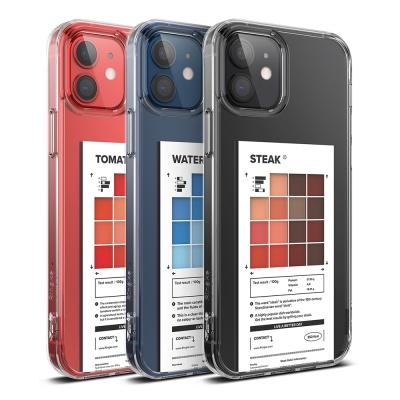아이폰12 시리즈 투명 케이스 링케퓨전 팔레트 디자인