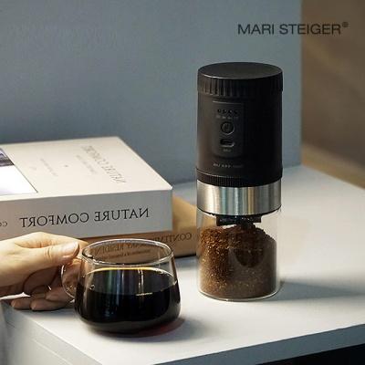 루미 충전식 전자동 커피 그라인더 블랙 B20