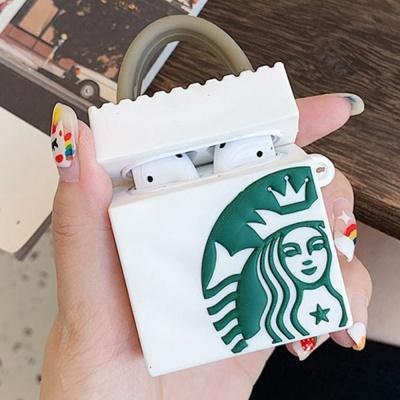 커피 별다방 쇼핑백 모형 이어폰 케이스 연말 선물