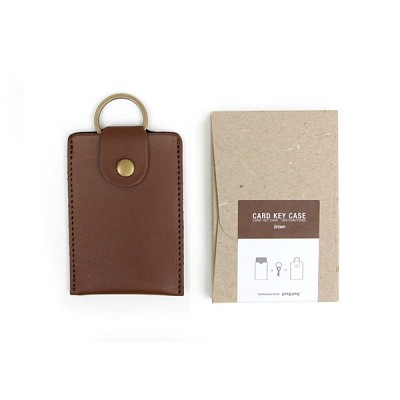 Card key case_brown