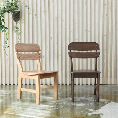 [리비니아]등받이 원목의자 1+1 2colors
