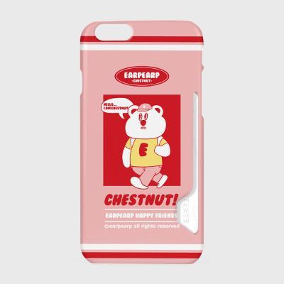 Hello chestnut-pink(카드수납케이스)