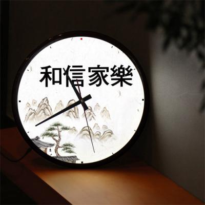 nf482-LED시계액자35R_화신가락가훈