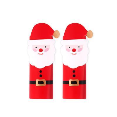크리스마스 산타 데코페이퍼 소 (10개)