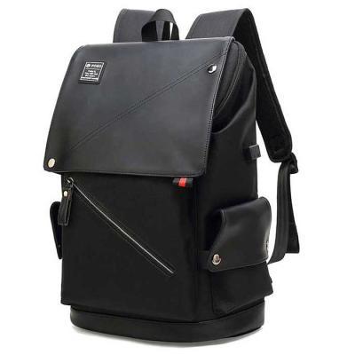 DAILY 케주얼 심플 백팩 블랙 27x15x41cm CH1735936
