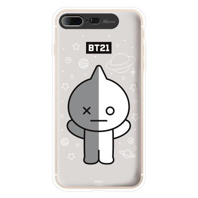 BT21 iPhone8 Plus /7Plus 반 그래픽 라이팅 케이스 (Hybrid)