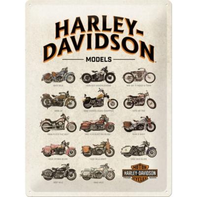노스텔직아트[23233] Harley-Davidson - Model Chart