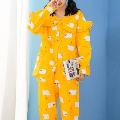 양떼목장 잠옷세트(L) (옐로우)