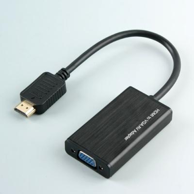 HDMI to VGA 변환 케이블 / 영상 음성 컨버터 LCFW933