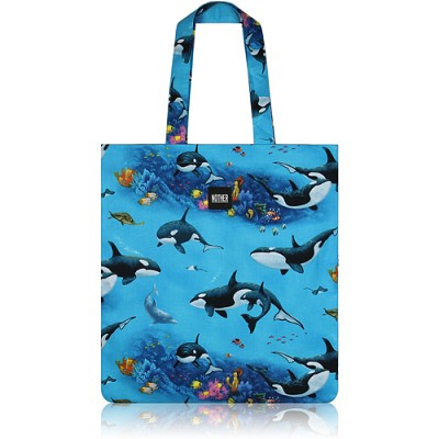 nother Killer Whales Flat Tote / 나더 범고래 플랫 토트백