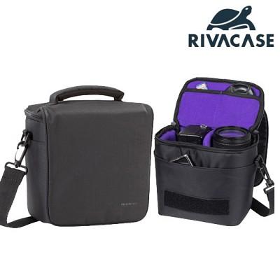 SLR 카메라 가방 RIVACASE 7302 (분리형 패딩 칸막이 / 추가 렌즈 & 액세서리 수납 공간)