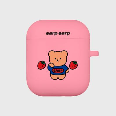 strawberry bear-pink(Air pods)