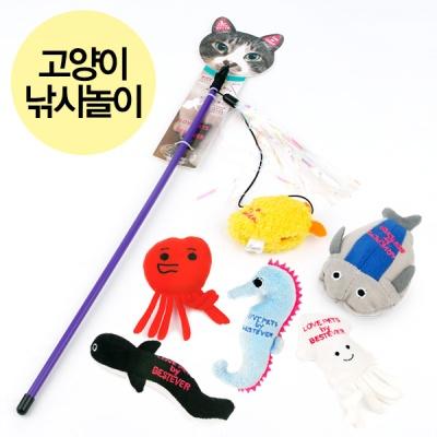 베스트에버 러브펫 고양이 낚시놀이 6종 (옵션선택)