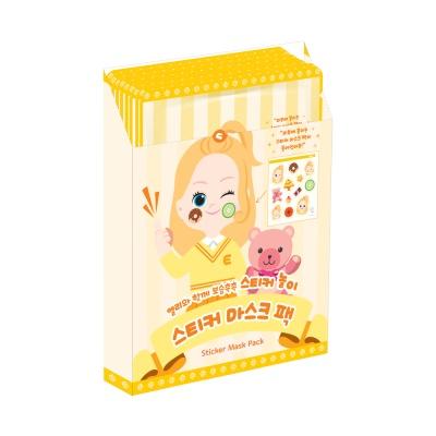 어린이화장품 플로릿 엘리 스티커 마스크 팩 10매