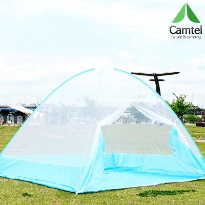 캠텔 [바닥있는] 원터치 텐트형 모기장 5~6인용