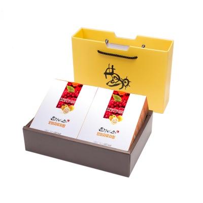 문경미소 오미자 유자청  2박스 선물세트