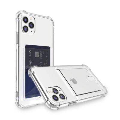 아이폰 12 Pro Max 아이스핏 에드온 TPU 카드 케이스