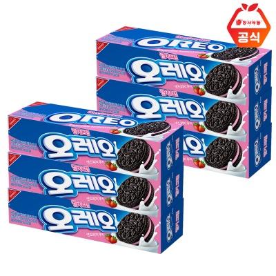 오레오 딸기 100g 6개