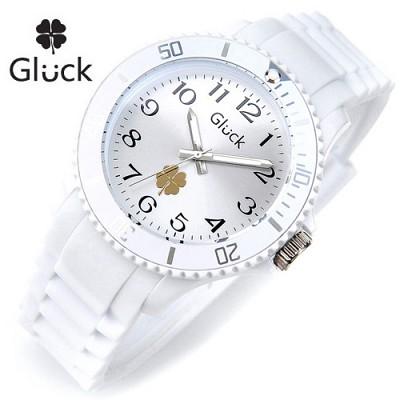 [Gluck]글륵 행운의 시계 GL1307-ARWH 본사정품 남여공용